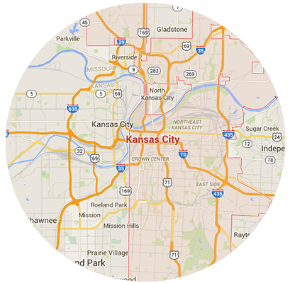 Kansas City Garage Door Service Areas