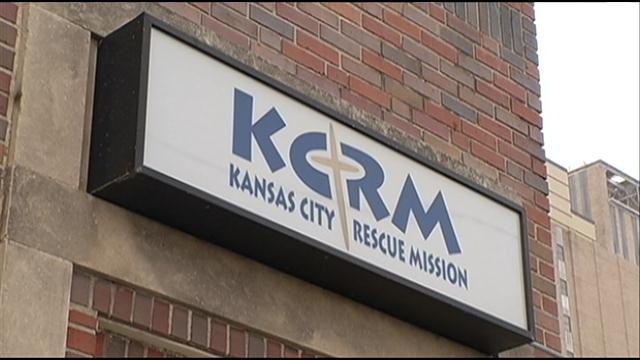kansas city rescue mission sign